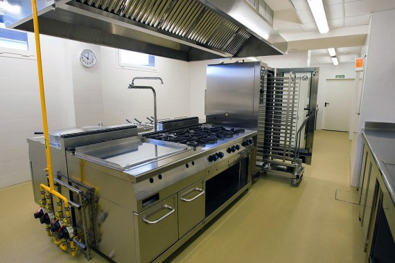 Cocina Industrial. Área General