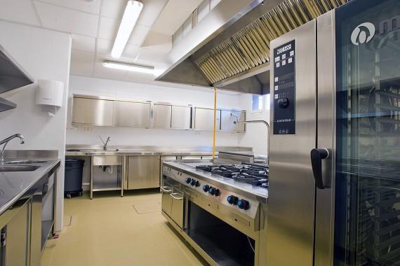 Cocina Industrial Area de Trabajo