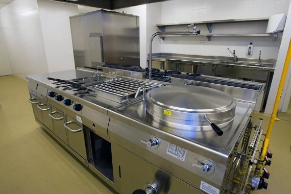 Cocina Industrial. Área de fuegos